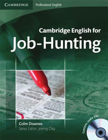 Cover Cambridge English for Job-Hunting 978-3-12-534285-9 Englisch für den Beruf