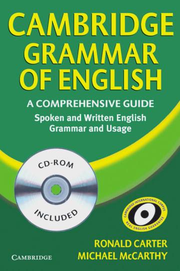 Cover Cambridge Grammar of English 978-3-12-534333-7 Englisch