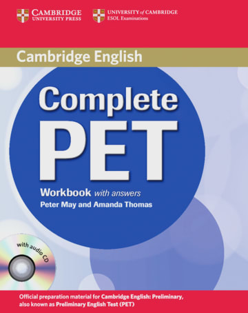 Complete Pet Workbook With Answers And Audio Cd Klett Sprachen