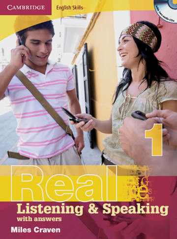 Cover Real Listening & Speaking 1 978-3-12-534521-8 Englisch