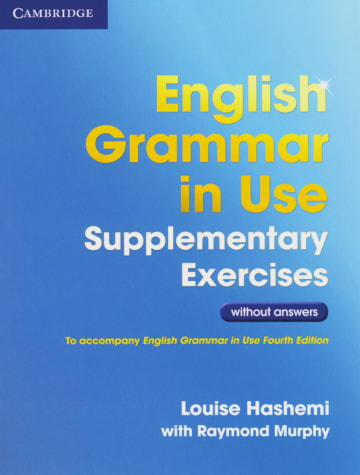 Cover English Grammar in Use Supplementary Exercises 978-3-12-534579-9 Englisch