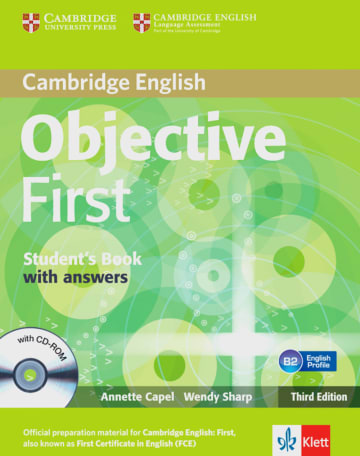 Cover Objective First 978-3-12-534639-0 Englisch