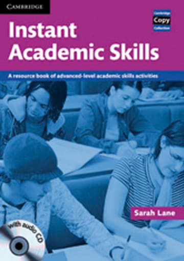 Cover Instant Academic Skills 978-3-12-534849-3 Englisch