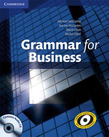 Cover Grammar for Business 978-3-12-535215-5 Englisch