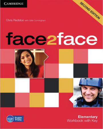 Cover face2face (2nd edition) 978-3-12-540071-9 Englisch