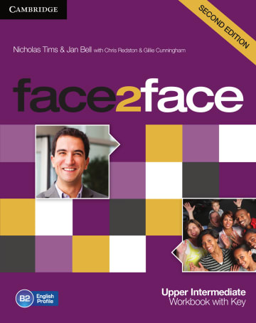 Cover face2face (2nd edition) 978-3-12-540080-1 Englisch