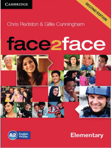 Cover face2face (2nd edition) 978-3-12-540082-5 Englisch