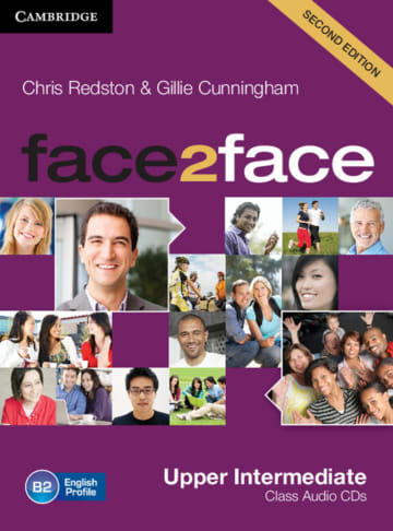 Cover face2face (2nd edition) 978-3-12-540085-6 Englisch