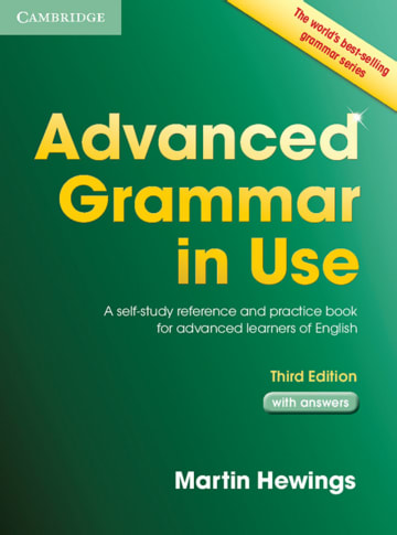 Cover Advanced Grammar in Use 978-3-12-540107-5 Englisch