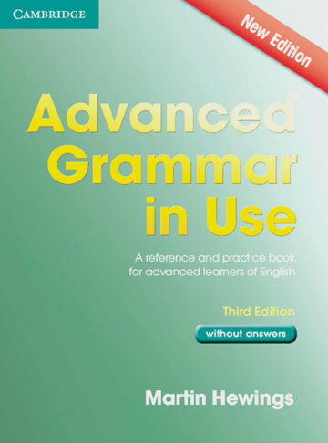 Cover Advanced Grammar in Use 978-3-12-540109-9 Englisch