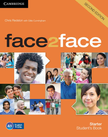 Cover face2face (2nd edition) 978-3-12-540330-7 Englisch
