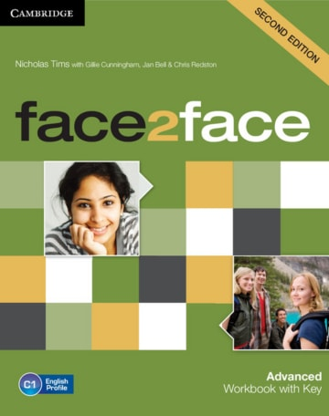 Cover face2face (2nd edition) 978-3-12-540336-9 Englisch