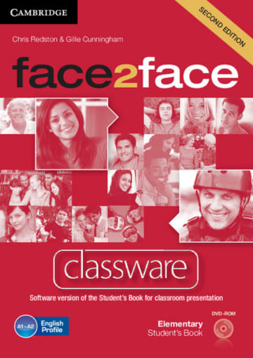Cover face2face (2nd edition) 978-3-12-540338-3 Englisch