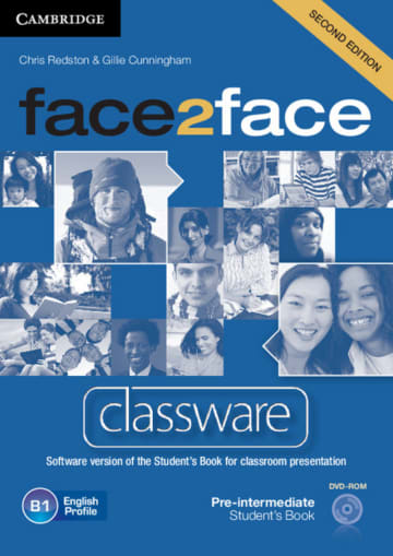 Cover face2face (2nd edition) 978-3-12-540339-0 Englisch