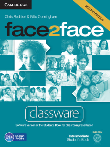 Cover face2face (2nd edition) 978-3-12-540340-6 Englisch