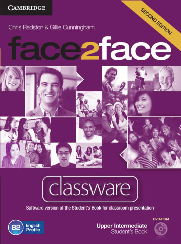 Cover face2face (2nd edition) 978-3-12-540341-3 Englisch
