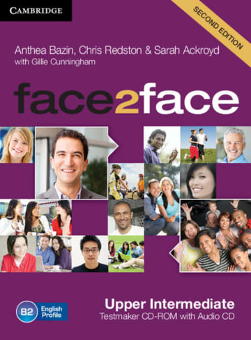 Cover face2face (2nd edition) 978-3-12-540345-1 Englisch