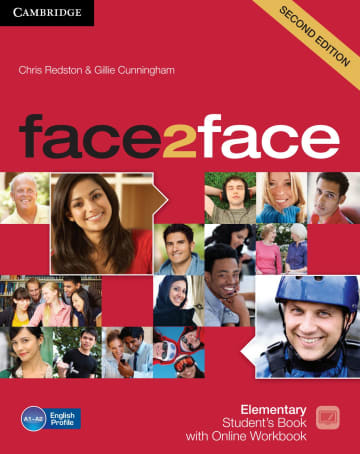 Cover face2face (2nd edition) 978-3-12-540346-8 Englisch
