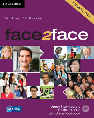Cover face2face (2nd edition) 978-3-12-540349-9 Englisch