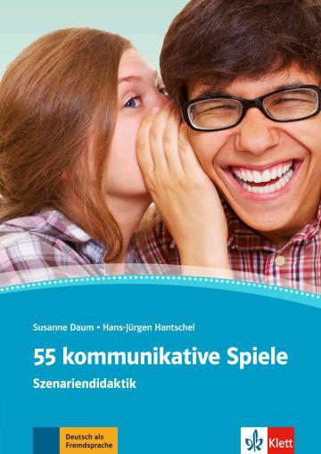 Cover 55 kommunikative Spiele 978-3-12-675184-1 Deutsch als Fremdsprache (DaF)
