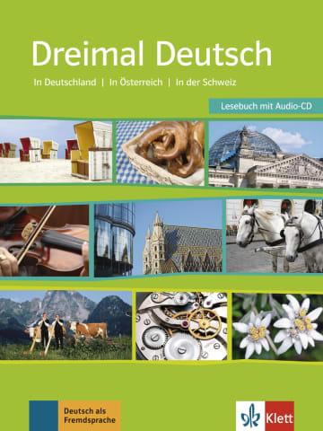 Cover Dreimal Deutsch 978-3-12-675237-4 Deutsch als Fremdsprache (DaF)