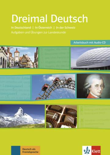 Cover Dreimal Deutsch 978-3-12-675241-1 Deutsch als Fremdsprache (DaF)