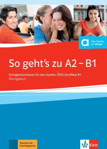 Cover So geht's noch besser neu A2 - B1 978-3-12-675856-7 Deutsch als Fremdsprache (DaF)