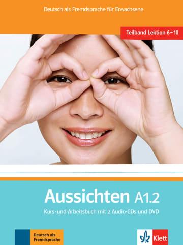 Cover Aussichten A1.2 978-3-12-676206-9 Deutsch als Fremdsprache (DaF)