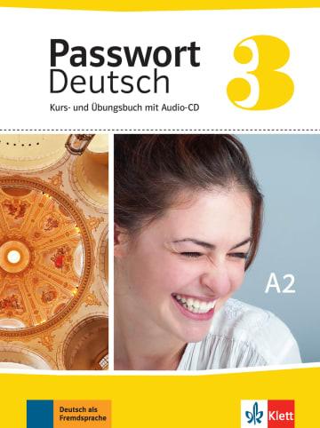 Cover Passwort Deutsch 3 978-3-12-676416-2 Deutsch als Fremdsprache (DaF)