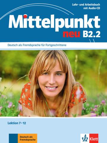 Cover Mittelpunkt neu B2.2 978-3-12-676657-9 Deutsch als Fremdsprache (DaF)