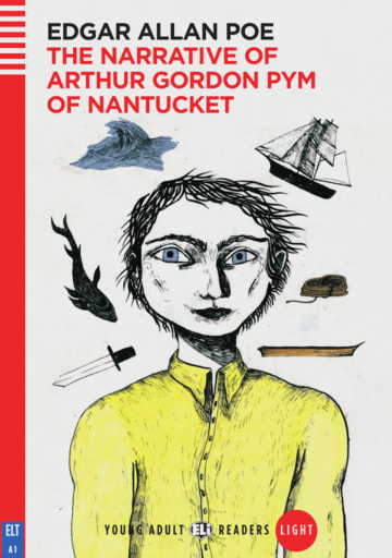 Cover The Narrative of Arthur Gordon Pym of Nantucket 978-3-12-514763-8 Edgar Allan Poe Englisch
