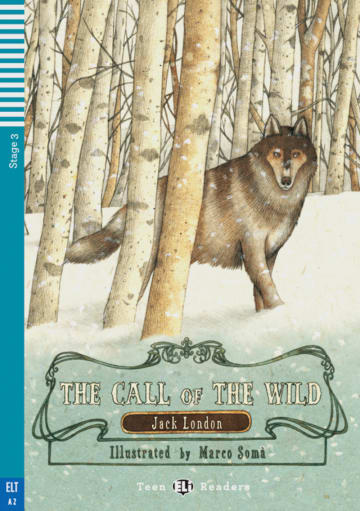 Cover The Call of the Wild 978-3-12-514772-0 Jack London Englisch