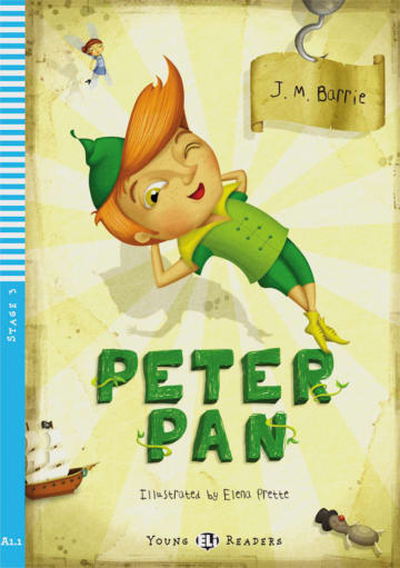 Cover Peter Pan 978-3-12-514808-6 J.M. Barrie, Richard B. A. Brown Englisch