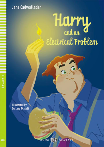 Cover Harry and the Electrical Problem 978-3-12-514811-6 Jane Cadwallader Englisch