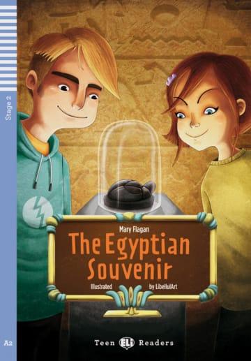 Cover The Egyptian Souvenir 978-3-12-514823-9 Mary Flagan Englisch