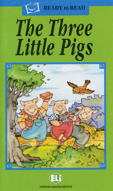 Cover The Three Little Pigs 978-3-12-514833-8 Englisch