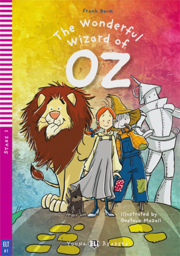 Cover The Wonderful Wizard of Oz 978-3-12-514849-9 Lyman Frank Baum Englisch