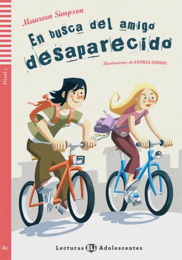 Cover En busca del amigo desparecido 978-3-12-514855-0 Maureen Simpson Spanisch