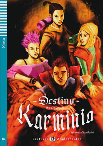 Cover Destino Karminia 978-3-12-514859-8 Maureen Simpson Spanisch