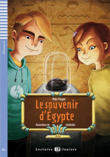 Cover Le souvenir d' Égypte 978-3-12-514966-3 Mary Flagan Französisch