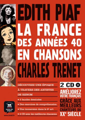 Cover Edith Piaf, Charles Trenet 978-3-12-525676-7 Youmna Tohmé Französisch