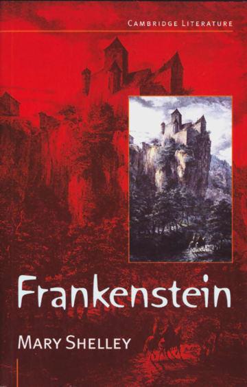 Cover Frankenstein 978-3-12-531170-1 Mary Shelley Englisch
