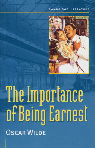 Cover The Importance of Being Earnest 978-3-12-531173-2 Oscar Wilde Englisch