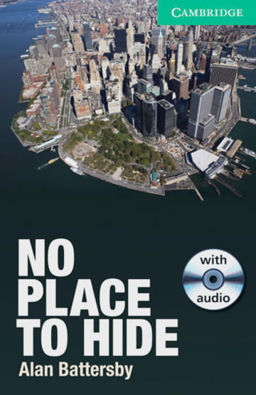 Cover No Place to Hide 978-3-12-534694-9 Alan Battersby Englisch