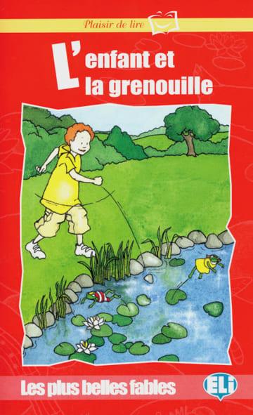 Cover L'enfant et la grenouille 978-3-12-534954-4 Französisch