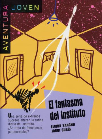 Cover El fantasma del instituto 978-3-12-535756-3 Elvira Sancho, Jordi Surís Spanisch