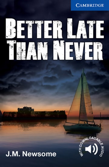 Cover Better Late Than Never 978-3-12-540173-0 Julia Newsome Englisch