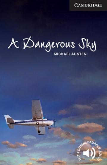 Cover A Dangerous Sky 978-3-12-540175-4 Michael Austen Englisch