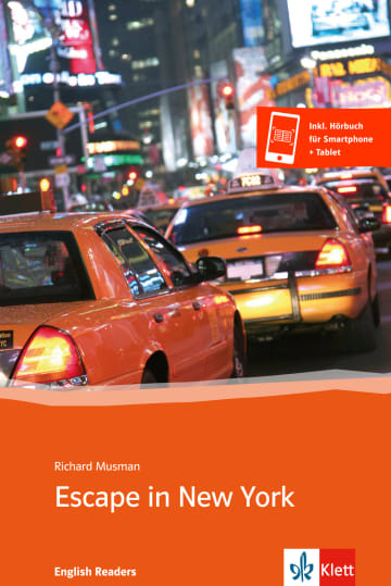 Cover Escape in New York 978-3-12-542599-6 Richard Musman Englisch