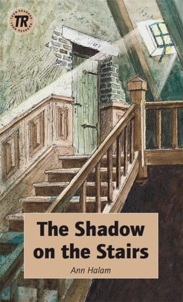 Cover The Shadow on the Stairs 978-3-12-544102-6 Ann Halam Englisch